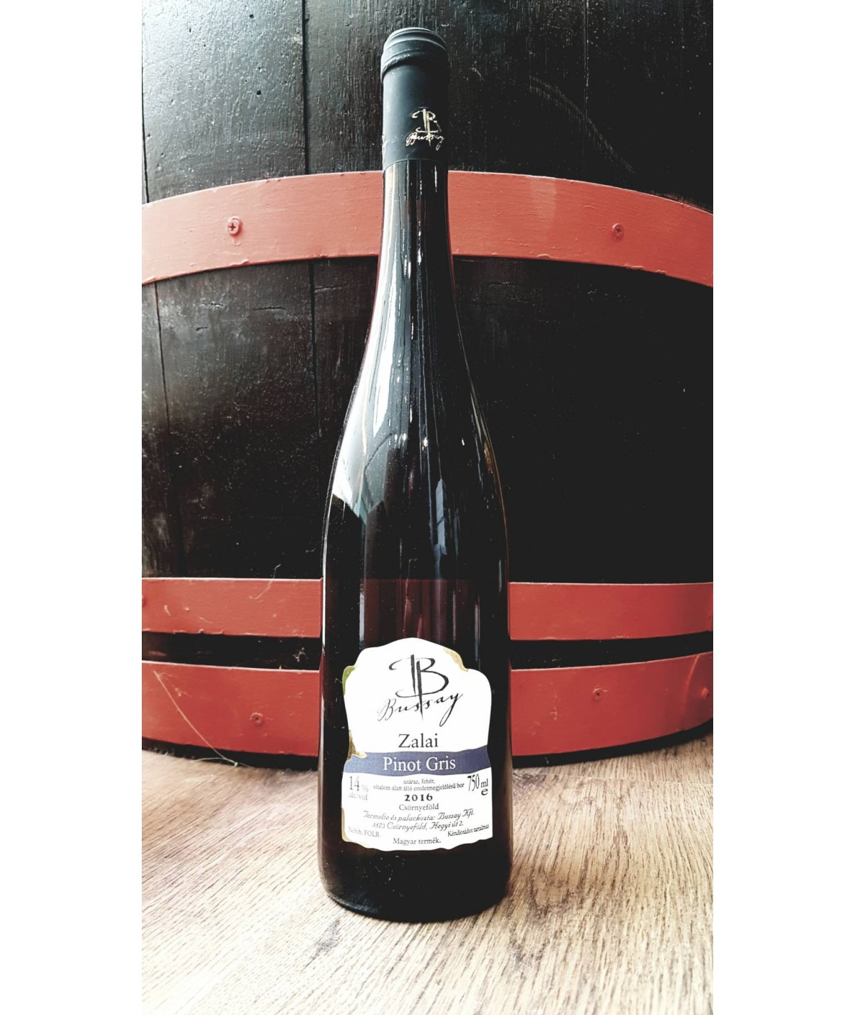 BUSSAY PINOT GRIS 0,75L